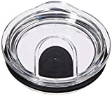 Tervis Clear and Black Slider Lid for Stainless Steel...