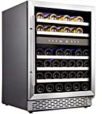 Phiestina 24'' Built-in or Free-standing 46 Bottle Wine...