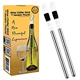 Guay Bebida Wine Chiller Stick and Aerating Pourer - In...