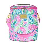 Lilly Pulitzer Pink/Blue/Green Insulated Soft Beach Cooler...