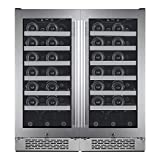 Avallon AWC151SZDUAL Stainless Steel Built-In 30 Inch Wide...