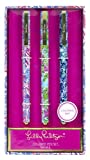 Lilly Pulitzer Colored Pen Set of 3, Includes...