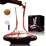 Wine Decanters and Carafes by NUTRIUPS Hand Blown Wine...
