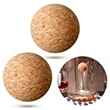 Wine Cork Ball Wooden Cork Ball Stopper for Wine Decanter...