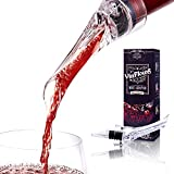 Nysa-9 Wine Aerator Pourer, Decanter Bottle Spout w/Gift...