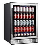 Kalamera 24 inch 154 Cans Capacity Beverage Cooler- Fit...