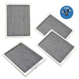 HQRP 4-pack Refrigerator Air Filter for Electrolux E24WC75HP...