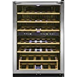 Frigidaire FFWC3822QS Two-Zone Wine Cooler with 38 Bottle...