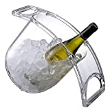 Coolin Curve Ice Bucket for Wine Champagne Beer Beverages...