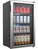 hOmeLabs Beverage Refrigerator and Cooler - 120 Can Mini...