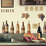 RoomMates RMK1257SCS Wine Tasting Peel and Stick Wall Decals...