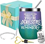 You Are Awesome Wine Tumbler - Thank You Gifts,...
