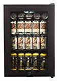 NewAir Beverage Refrigerator Cooler with 90 Can Capacity -...