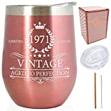 1971 50th Birthday Presents for Women |Vintage Aged to...
