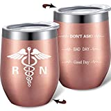 Registered Nurse Mug, Two Sided Good Day Bad Day Don't Ask,...