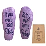 If You Can Read This Bring Me Wine Socks - Accessories Gifts...