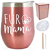 Fur Mama - Cat Dog Animals Lovers Gift for her - 12 oz...