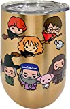 Spoontiques Harry Potter Stainless Wine Tumbler, 16 oz, Gold