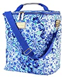 Lilly Pulitzer Blue Insulated Wine Carrier Soft Cooler with...